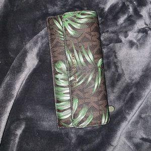 Michael Kors Palm Leaf Wallet